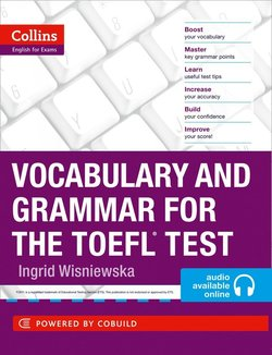Collins Vocabulary and Grammar for the TOEFL Test with MP3 CD ISBN: 9780007499663