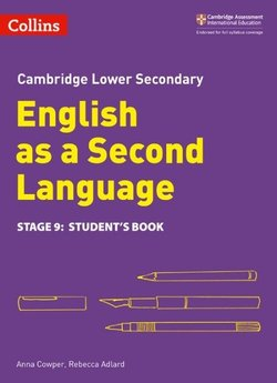 Collins Cambridge Lower Secondary English as a Second Language Stage 9 Student's Book ISBN: 9780008215422
