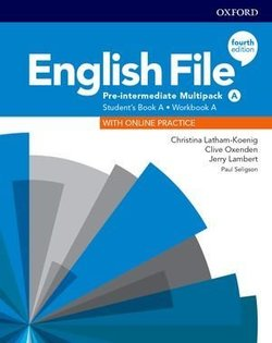 English File (4th Edition) Pre-intermediate Multipack A with Resource Centre A ISBN: 9780194037303
