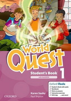 World Quest 1 Student's Book Pack ISBN: 9780194125864