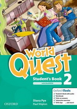 World Quest 2 Student's Book Pack ISBN: 9780194125956
