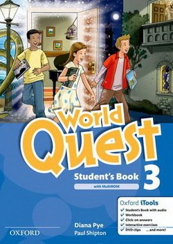 World Quest 3 Student's Book Pack ISBN: 9780194126045