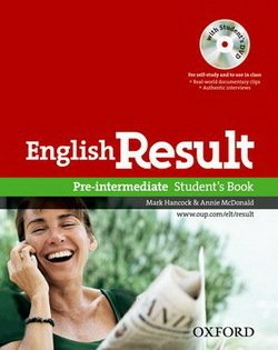 English Result Pre-Intermediate Student's Book with DVD ISBN: 9780194129558