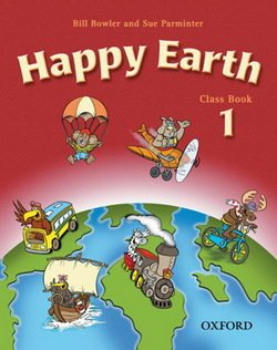 Happy Earth 1 Classbook ISBN: 9780194338462