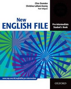 New English File Pre-Intermediate Student's Book ISBN: 9780194384339