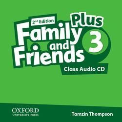 Family and Friends (2nd Edition) 3 Plus Grammar and Vocabulary Builder  Class Audio CD