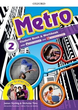 Metro 2 Student Book and Workbook Pack ISBN: 9780194410274