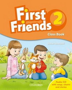First Friends 2 Class Book Pack ISBN: 9780194432191