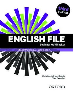 English File (3rd Edition) Beginner MultiPACK A (without CD-ROM) ISBN: 9780194501903