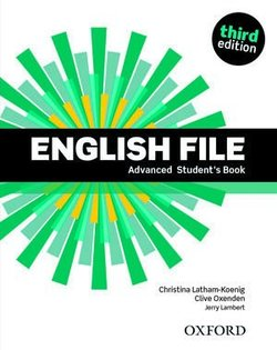 English File (3rd Edition) Advanced Student's Book (without iTutor CD-ROM) ISBN: 9780194502405