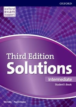 Solutions (3rd Edition) Intermediate Student's Book ISBN: 9780194504492