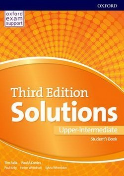 Solutions (3rd Edition) Upper Intermediate Student's Book ISBN: 9780194506489