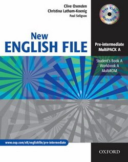 New English File Pre-Intermediate MultiPACK A (Student Book A & Workbook A with CD-ROM) ISBN: 9780194518260