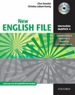 New English File Intermediate MultiPACK A (Student Book A & Workbook A with CD-ROM) ISBN: 9780194518307