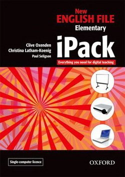 New English File Elementary iPack (Whiteboard Software) (single user version) ISBN: 9780194518581