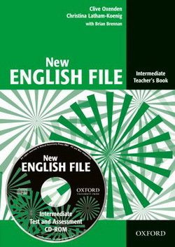 New English File Intermediate Teacher's Book with Test and Assessment CD-ROM ISBN: 9780194518895