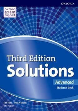 Solutions (3rd Edition) Advanced Student's Book ISBN: 9780194520515
