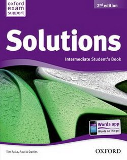 Solutions (2nd Edition) Intermediate Student's Book ISBN: 9780194552882