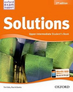Solutions (2nd Edition) Upper Intermediate Student's Book ISBN: 9780194552899