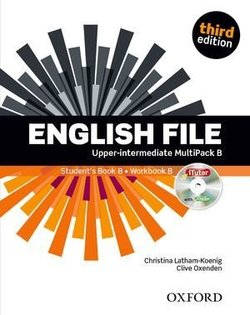 English File (3rd Edition) Upper Intermediate MultiPACK B (without CD-ROM) ISBN: 9780194558426