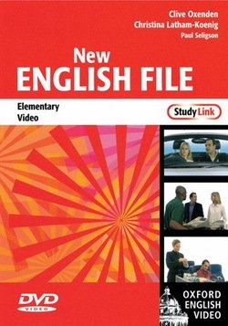 New English File Elementary Study Link Video DVD ISBN: 9780194593946