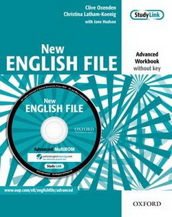 New English File Advanced Workbook without Answer Key and MultiROM Pack ISBN: 9780194594646