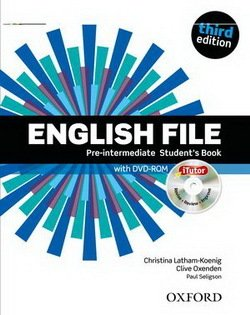 English File (3rd Edition) Pre-Intermediate Student's Book with iTutor ISBN: 9780194598651