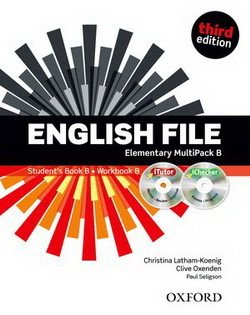 English File (3rd Edition) Elementary MultiPACK B (without CD-ROM) ISBN: 9780194598163