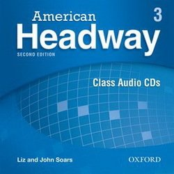 American Headway (2nd Edition) 3 Class Audio CDs (3)  ISBN: 9780194729932