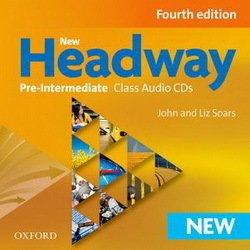 New Headway (4th Edition) Pre-Intermediate Class Audio CD (3) ISBN: 9780194769617