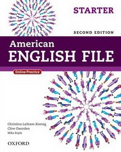 American English File (2nd Edition) Starter Student's Book with iTutor ISBN: 9780194776141