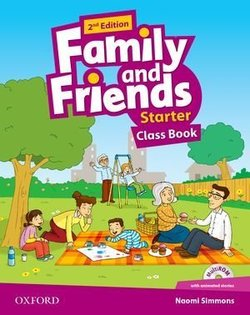 Family and Friends (2nd Edition) Starter Class Book (without MultiROM) ISBN: 9780194808354