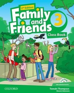 Family and Friends (2nd Edition) 3 Class Book ISBN: 9780194808408