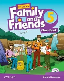 Family and Friends (2nd Edition) 5 Class Book ISBN: 9780194808446