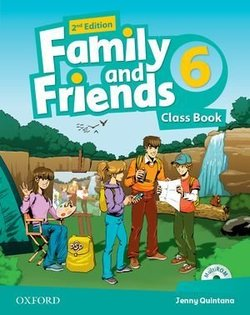 Family and Friends (2nd Edition) 6 Class Book ISBN: 9780194808460
