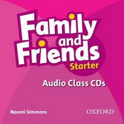 Family and Friends Starter Class Audio CDs (2) ISBN: 9780194811989