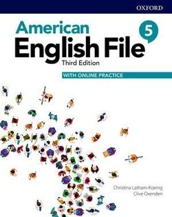 American English File (3rd Edition) 5 Student Book with Online Practice ISBN: 9780194907088