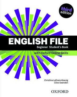 English File (3rd Edition) Beginner Student's Book with Online Skills Practice (without iTutor CD-ROM) ISBN: 9780194909259