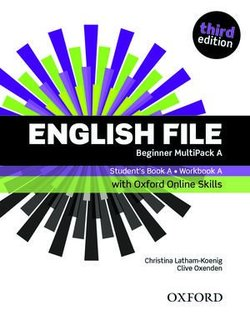 English File (3rd Edition) Beginner MultiPACK A with Online Skills Practice (without CD-ROM) ISBN: 9780194909297