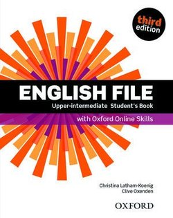 English File (3rd Edition) Upper Intermediate Student's Book with Online Skills Practice (without iTutor CD-ROM) ISBN: 9780194909389