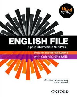 English File (3rd Edition) Upper Intermediate MultiPACK B with Online Skills Practice (without CD-ROM) ISBN: 9780194909433