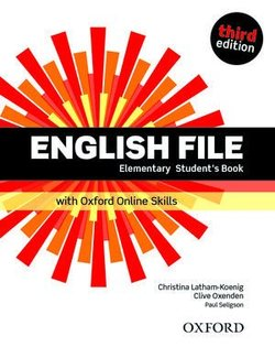 English File (3rd Edition) Elementary Student's Book with Online Skills Practice (without iTutor CD-ROM) ISBN: 9780194909495
