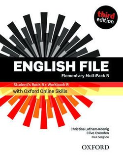 English File (3rd Edition) Elementary MultiPACK B with Online Skills Practice (without CD-ROM) ISBN: 9780194909556