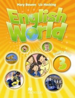 English World 3 Pupil's Book  ISBN: 9780230024618