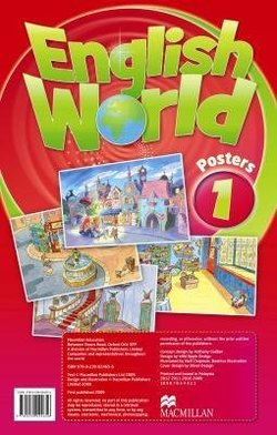English World 1 Posters ISBN: 9780230024656