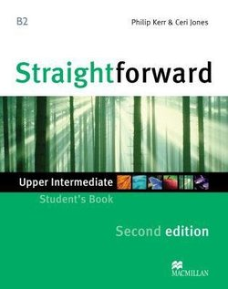 Straightforward 2nd Edition Upper Intermediate Students Book ISBN 9780230423343