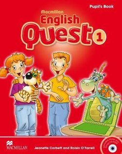Macmillan English Quest 1 Pupil's Book with CD-ROM ISBN: 9780230443808