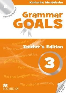 Grammar Goals American English 3 Teacher S Book With Class Audio