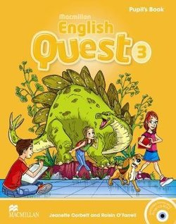Macmillan English Quest 3 Pupil's Book with CD-ROM ISBN: 9780230456648