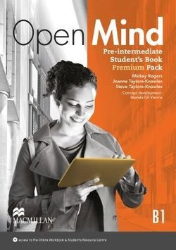 Open Mind Pre-Intermediate Student's Book Premium Pack with Webcode for Online Video & MP3 Audio ISBN: 9780230458116